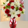 41% Off Holiday Bouquet with Vase and Delivery from FTD