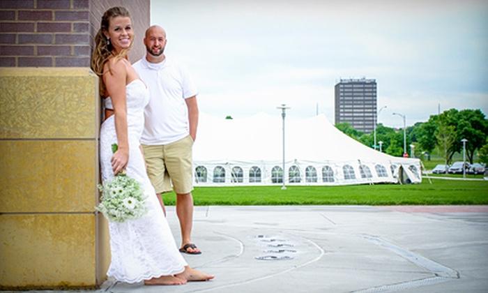 Omaha Wedding Exposures - Omaha: Six or Eight Hours of Wedding-Photography Coverage from Omaha Wedding Exposures (Half Off)