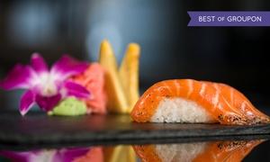 Restauracja Pataya Sushi: Zestaw sushi: 32 kawałki (65,99 zł) lub 38 kawałków z przystawką (95,99 zł) w Restauracji Pataya Sushi w Gliwicach
