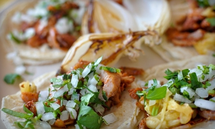 Felipe's Tacos - Santa Fe: Four Visits for Entree Plates or $7 for $15 Worth of Mexican Fare at Felipe's Tacos in Santa Fe