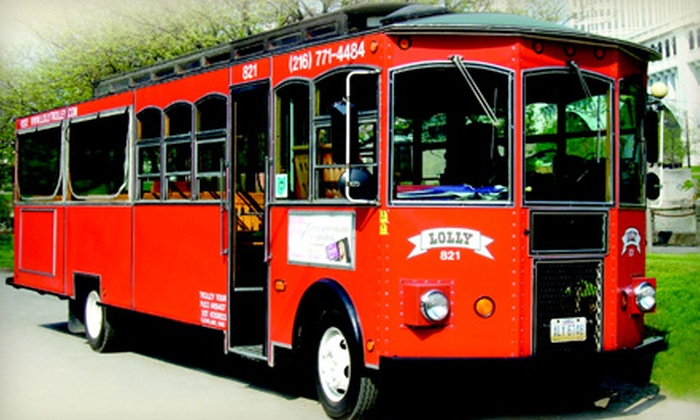 Trolley Tours of Cleveland - Cleveland: $19 for Two-Hour Sightseeing Tour for Two from Trolley Tours of Cleveland ($36.64 Value)