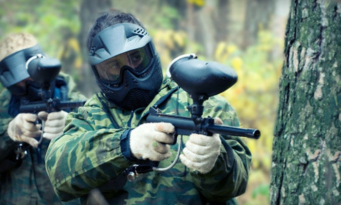 Wyldside Paintball - Wyld Side Paintball: Paintball with Equipment Rental for Two or Five at Wyldside Paintball in New Milford (Up to 72% Off)