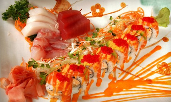 Miyako - New Orleans: $25 for $50 Worth of Sushi, Japanese Dinner Fare, and Drinks at Miyako Japanese Seafood and Steakhouse