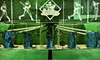 Strike Zone - Rockbrook: Batting-Cage Package, Father-Son Baseball Clinic, or Baseball Fundamentals Camp at Strike Zone (Up to 59% Off)
