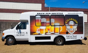 Hop-On, Hop-Off Brew Bus Tour for Two or Four from Kalamazoo Brew Bus (Up to 38% Off)