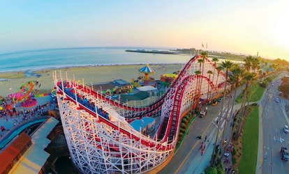 image for $31.95 for One All-Day Rides Wristband at Santa Cruz Beach Boardwalk ($39.95 Value)