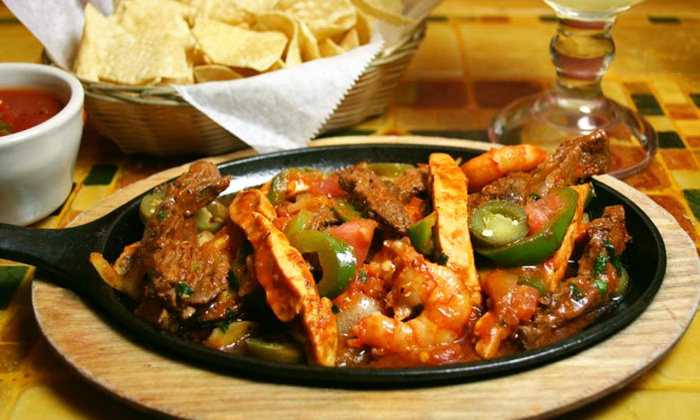 Oscar's Pinatas - South Lowell: Authentic Mexican Cuisine for Two or Four at Oscar's Pinatas (Up to 56% Off)