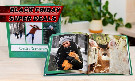 Personalised Photobook: Softcover (from $1.95) or Hardcover (from $9.95) (Don't Pay up to $254.95)