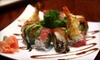 Sun Cafe - Huntsville: $9 for $18 worth of Sushi Fare and Drinks at Sun Cafe