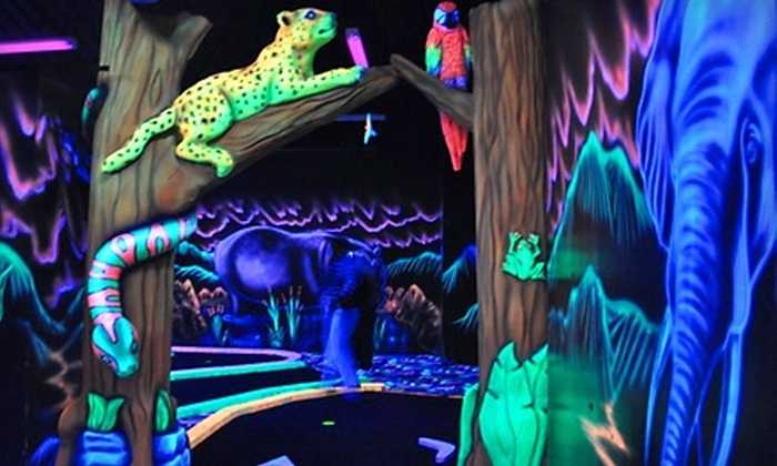 Jungle Wonder - Limerick: Mini Golf for Four or Mini Golf and Jungle-Gym Admission for Two at Jungle Wonder in Limerick