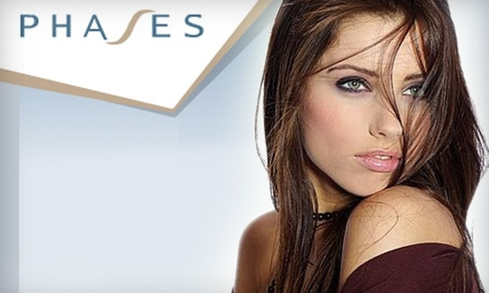 Phases - Willowdale: $39 for Salon Styling Package at Phases Hair Studio ($90 Value)