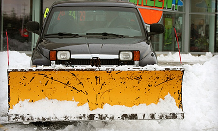 Instant Curb Appeal - Heritage Hill: Fall Yard Cleanup, Detailing of Boat, RV, or Camper, or Full-Season Snowplow Service from Instant Curb Appeal