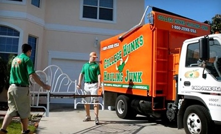 Half Off From College Hunks Hauling Junk College Hunks