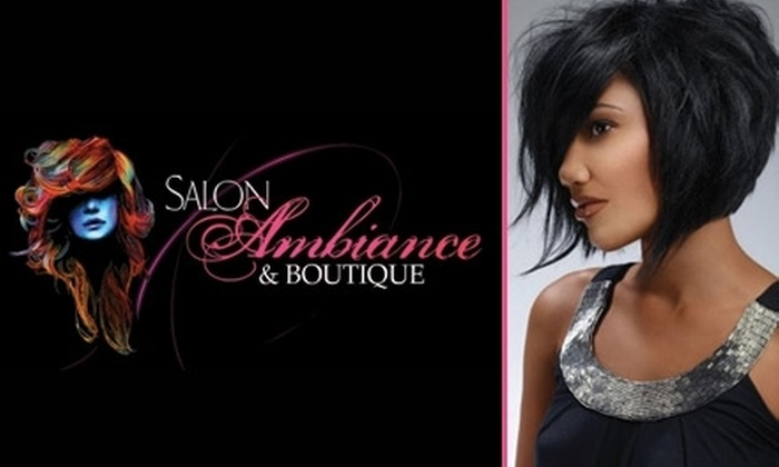Salon Ambiance - Gregory Estates: $20 for $50 Worth of Facials, Mani-Pedis, Waxing, and More at Salon Ambiance