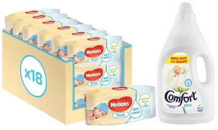 Wipes and Fabric Conditioner Set