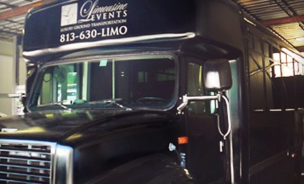 3-Hour Party-Bus Rental for Up to 22 Guests Monday-Thursday (a $450 value) - Limousine Events in