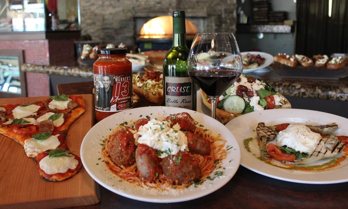 Crust Restaurants - Multiple Locations: $12 for Two Groupons, Each Good for $10 Worth of Italian Cuisine for Lunch at Crust Restaurants ($20 Value)