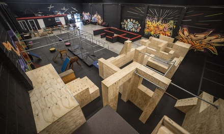 60-Minute Adult or Kid Parkour Experience, or Ninja Fitness for One or Two at Fluidity Freerun Academy (Up to 50% Off)