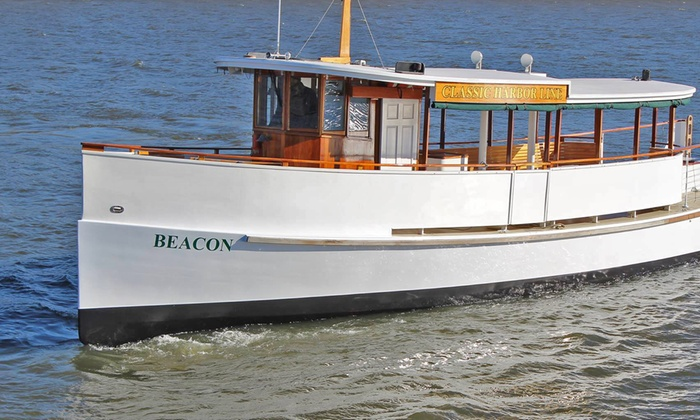 Classic Harbor Line - Downtown Boston: Boston Harbor Cruise for Two from Classic Harbor Line (Up to 28% Off). Four Options Available.