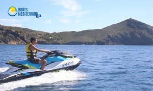 Boats Mediterrani: Excursión en moto de agua para 1 o 2 personas a Punta Figuerasa o al Cap de Creus desde 54 € en Boats Mediterrani
