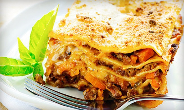 Judy's Catering - West Eugene: Catered Lasagna Meal for 10 or $50 for $100 Worth of Catering from Judy's Catering