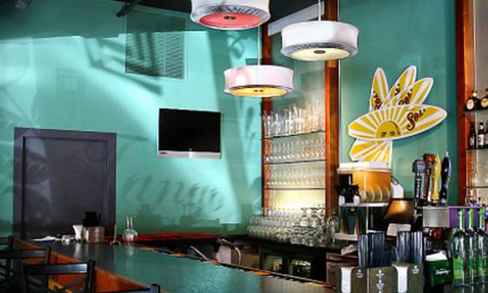 Sabor Latin Bar & Grille - Old Town: $10 for $20 Worth of Latin American Fare at Sabor Latin Bar & Grille
