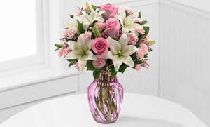 51% Off Mother's Day Bouquet and Vase. Shipping Included at FTD.com, plus 9.0% Cash Back from Ebates.