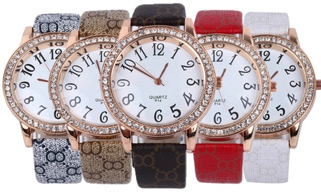 1 o 2 relojes Niama decorados con cristales de Swarovski®