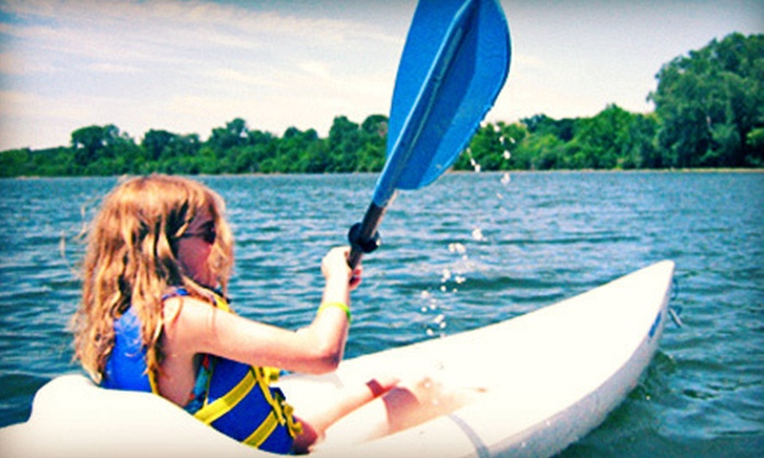 Wingra Boats - Vilas: Two-Hour Kayak Rental or One-Hour Standup Paddleboard Lesson at Wingra Boats (Up to 58% Off)