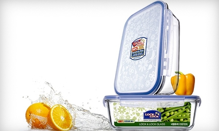 Lock & Lock: $25 for $50 Worth of Food Containers, Living Storage, and Kitchenware from Lock & Lock