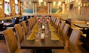 Restaurant Zorbas: Griechisches 4-Gänge-Menü mit Hauptgericht nach Wahl für 2 oder 4 Personen im Restaurant Zorbas (56% sparen*)