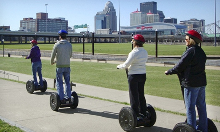 Wheel Fun Rentals Louisville - Central Business District: Segway Tour of Waterfront Park for Two or Four from Wheel Fun Rentals (Half Off)