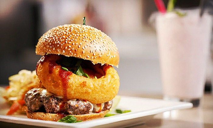 H BurgerCo - LoDo: $5 for $10 Worth of Gourmet Burgers and Milk Shakes at HBurgerCo