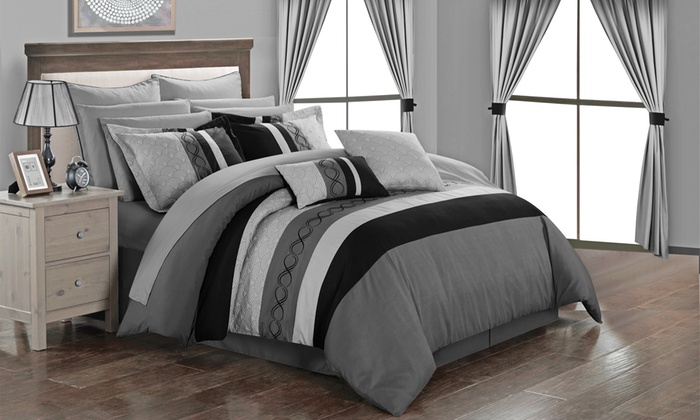 Up To 82 Off On Didith Comforter Set 24 Piece Groupon Goods