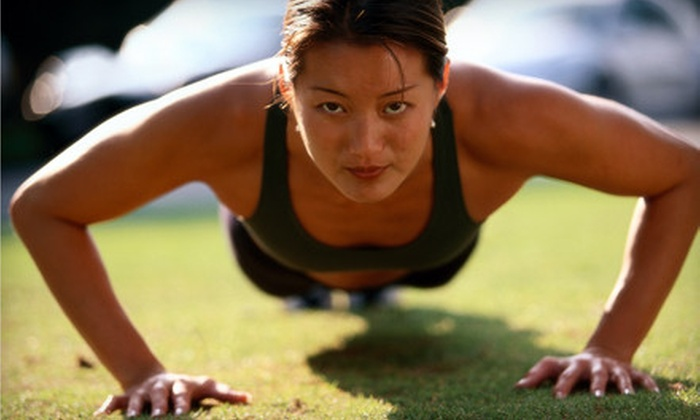Skyefit - Multiple Locations: $39 for 30 Days of Unlimited Boot-Camp Classes at Skyefit ($175 Value)