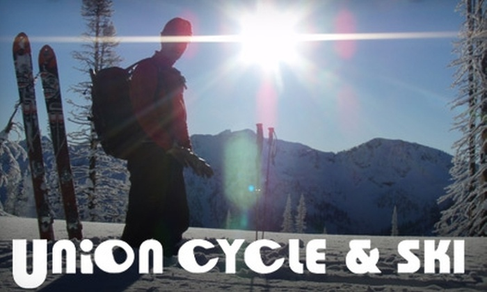 Union Cycle and Ski - Central City: $25 for $50 Worth of Winter Gear and Services at Union Cycle and Ski