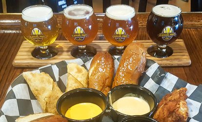 image for Beer with Appetizers at The Casual Pint - Highland Row (Up to 40% Off)