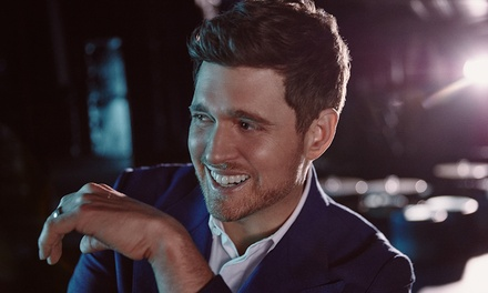 An Evening with Michael Bublé in Concert on March 31 at 8 p.m.