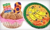 Cookies by Design - Multiple Locations: $18 for a Wicker Cookie Basket or Cookie Cake at Cookies by Design (Up to $45.99 Value)