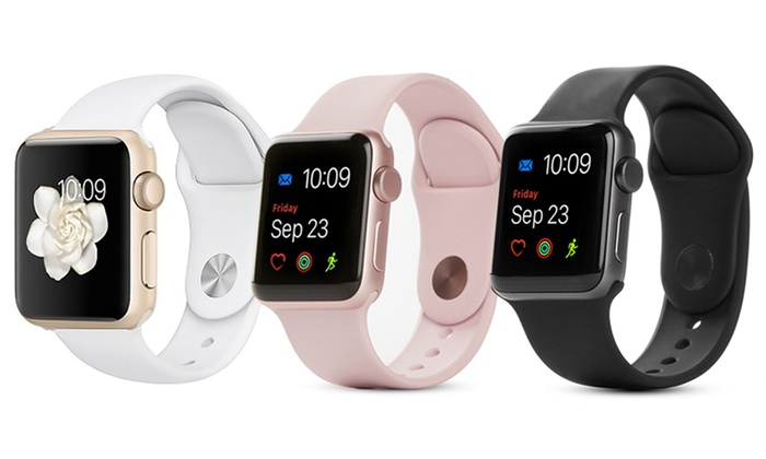 Apple Watch 1st Generation Series 2 Series 3 Refurbished A Grade Groupon