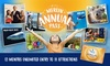12 Months of Unlimited Entry to 11 Attractions
