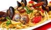Aretusa: menu di pesce con vino