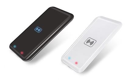 1 o 2 cargadores inalámbricos rectangulares con receptor Qi Micro-USB