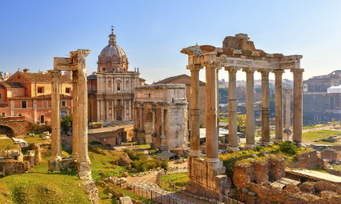 Weekender Breaks - Rome: Rome: 2 or 3 Nights With Flights For Two from £119 Per Person; Plus Tour from £155 Per Person (Excl. City Tax)