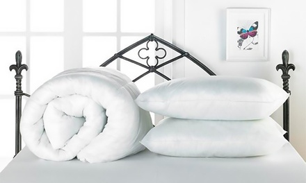 Summer Duvet in Choice of Size with Two Pillows