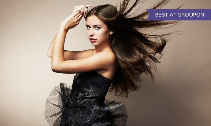 Michael Helene Salon Gallery - Dulles Trade Center: Haircut and Style at Michael Helene Salon Gallery (Up to 51% Off). Three Options Available.