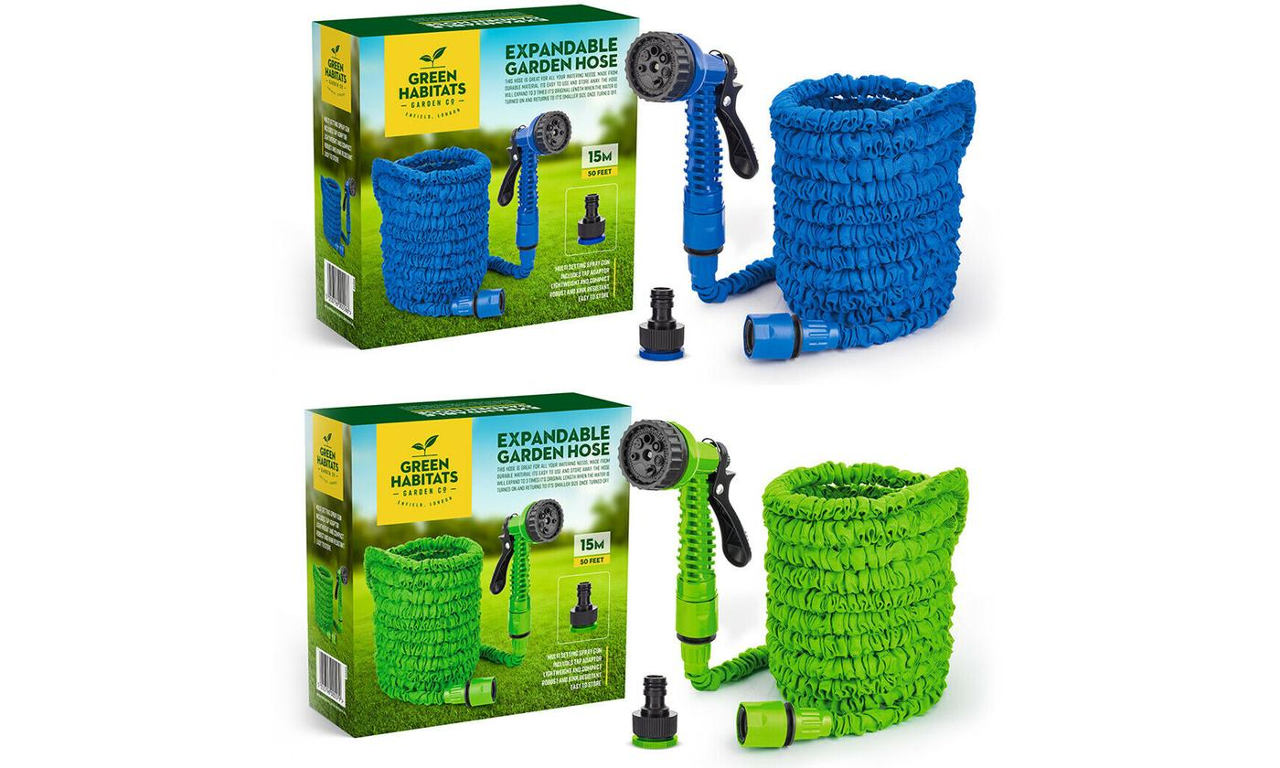 Expandable Hose with SprayGun