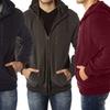 Vertical Sport Men's Sherpa-Lined Fleece Hoodie