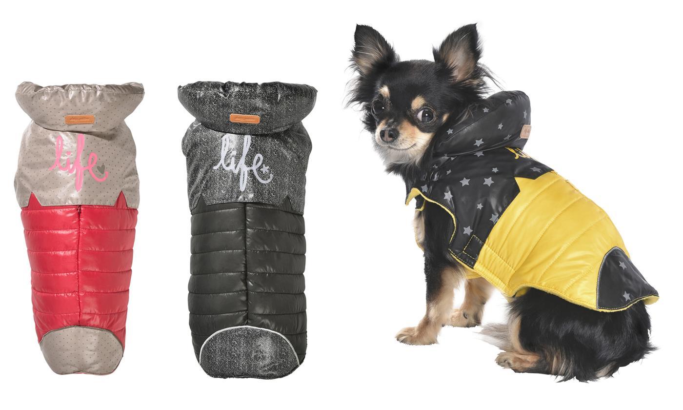 Bobby Dog Coat with Fleece Lining