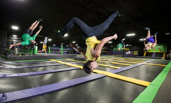Up to 38% Off Jump Passes at Get Air Trampoline Park